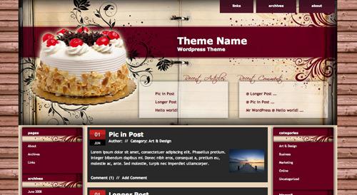 food-pasta-borek-kek-yemek-bloglari-cakerecipe-girl-woman-blogger-template-sablon-skins
