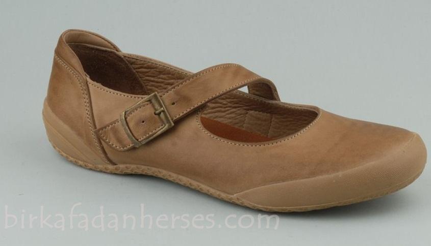 spunk deri kum rengi ayakkabı