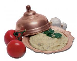 meziz patlıcan salatası