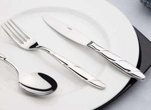 Viyana Sade 89 Parça Lüks Sandıklı çatal kaşık bıçak seti