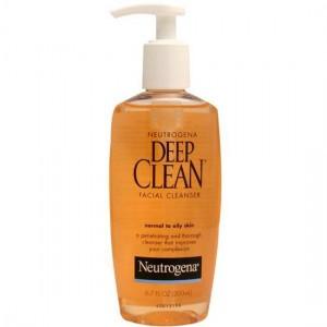 neutrogena deep clean temizleme jeli