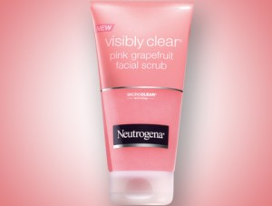 neutrogena pink grapefruit daily scrub