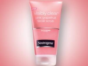 neutrogena pink grapefruit daily scrub