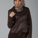 yeni moda tuğba deri ceket