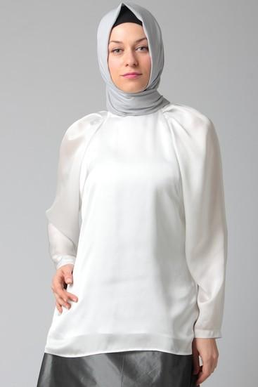 özel tasarım ipek bluz