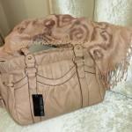 forever new gül kurusu kol çantası şal