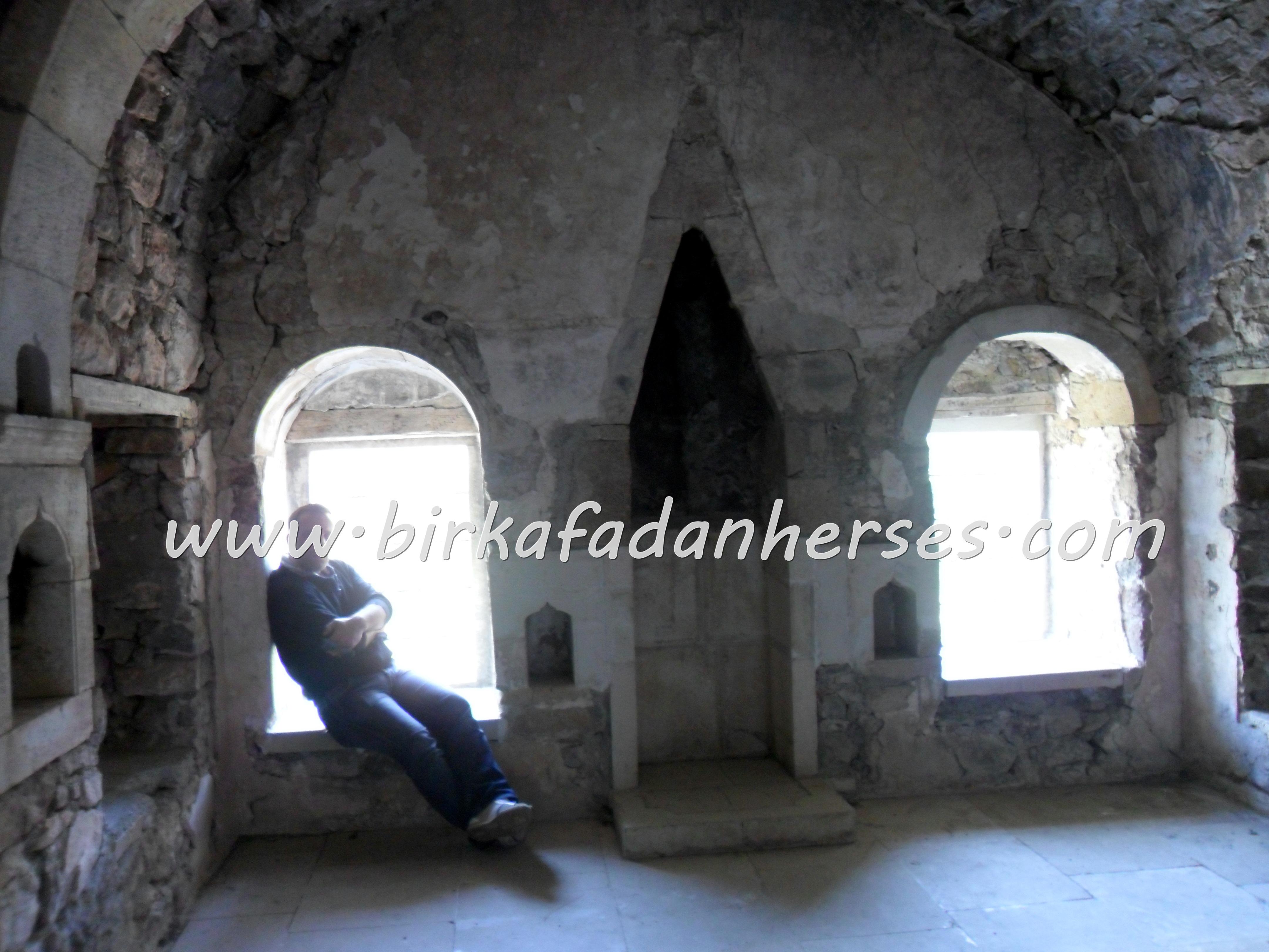 sümela manastırının içerden görünüşü