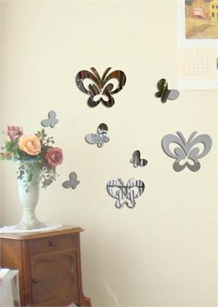 kızımın odasına kelebekli duvar sticker