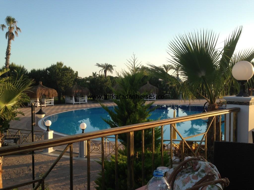 şah inn paradise tatil köyü maceramız