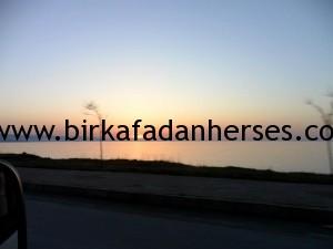 giresun keşap sahilden günbatımı manzarası