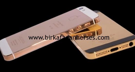 iPhone 5S altın gold rengi