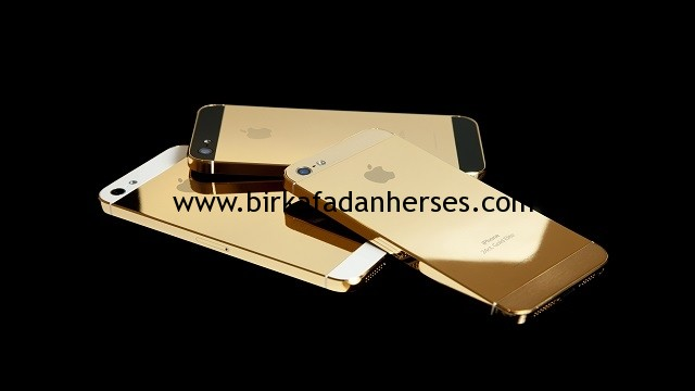 iPhone 5S altın rengi
