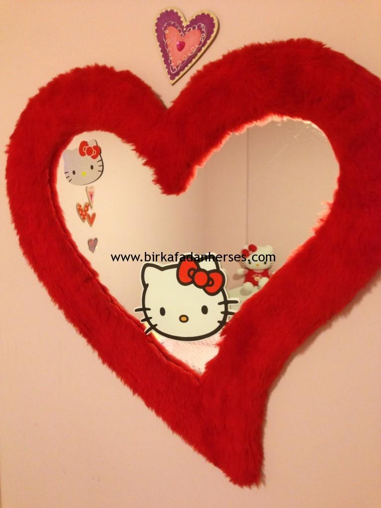 hello kitty temalı çocuk odası kız bebek odaları