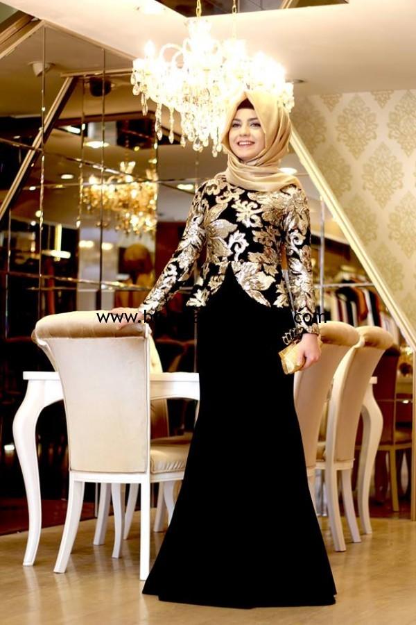 852a603f47b27 Pınar Şems tesettür butik abiye elbise modelleri fiyatları | Bir ...