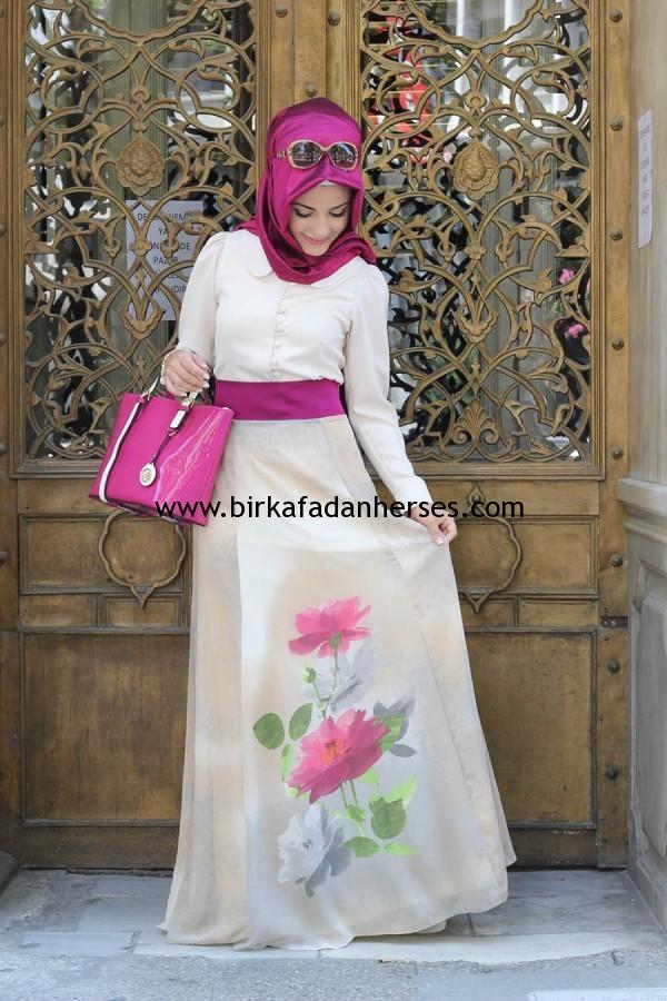 Pınar Şems tesettür butik abiye elbise modelleri fiyatları