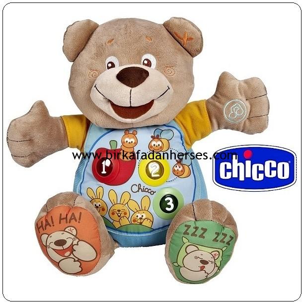 chicco konuşan ayı teddy ayıcık ile birlikte sayalım