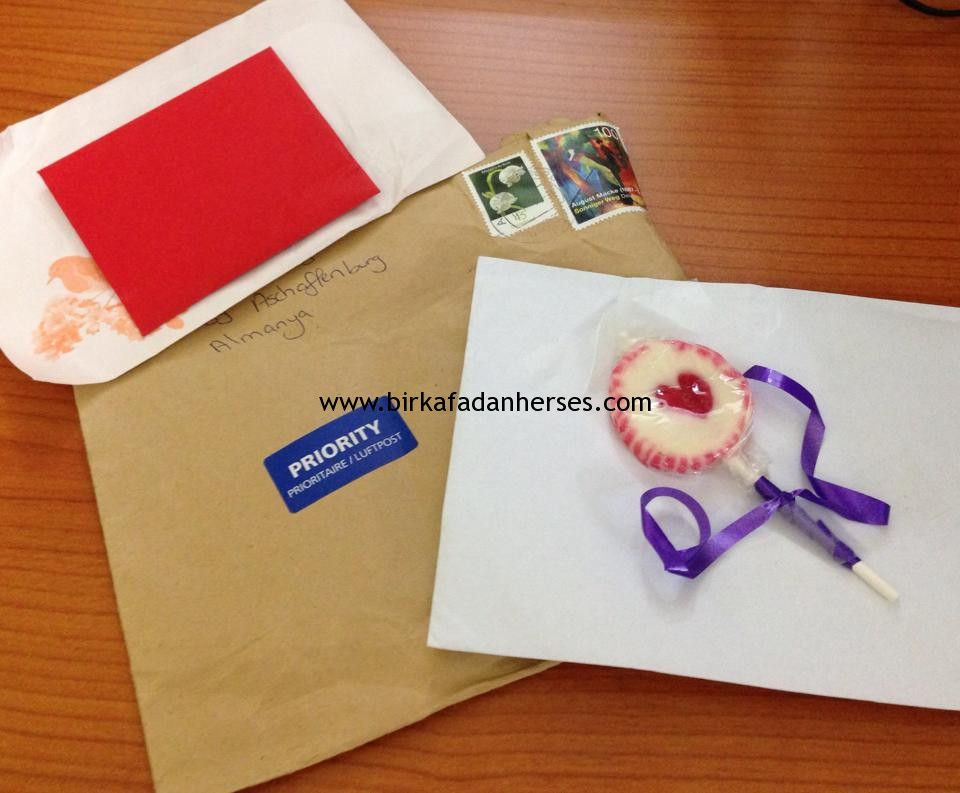 almanyadan mektup geldi