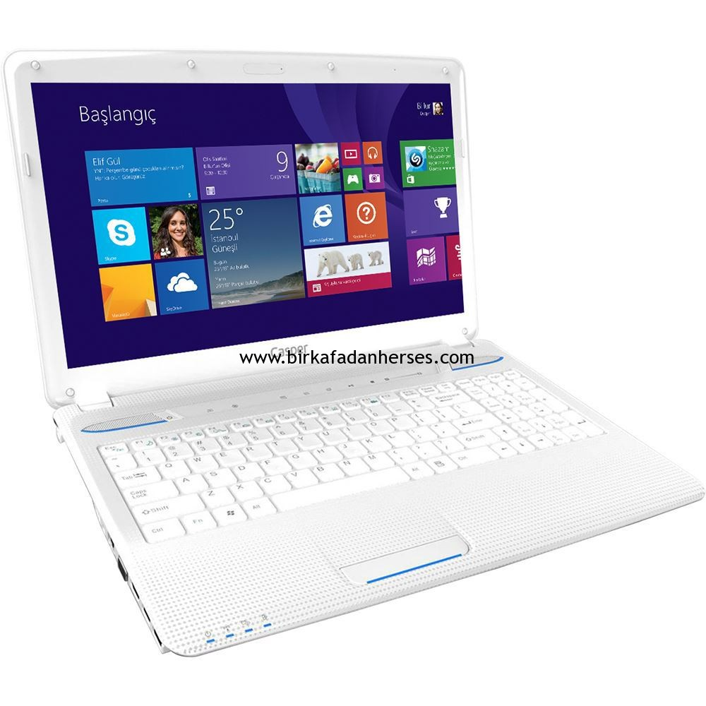Casper Nirvana CN-VHU4210X white beyaz laptop notebook