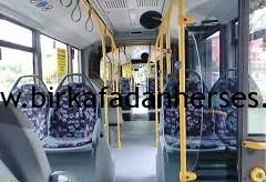 belediye otobüslerine karşılıklı koltuk koymanın mantığı nedir