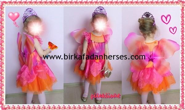 elsiva waikiki kelebek kostümü-butterfly costumes
