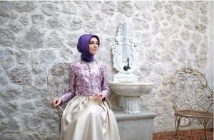 setrms abiye 013 2015 Uzun Kollu Kapalı Tesettür Mezuniyet Elbiseleri