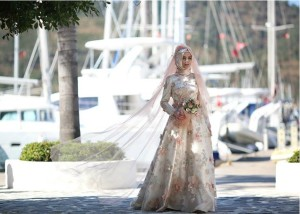 setrms abiye 2015 Uzun Kollu Kapalı Tesettür Mezuniyet Elbiseleri