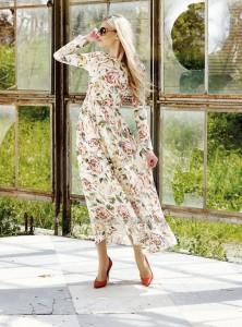 Kuaybe Gider 2015 Pertev Nihal Pamuklu Boydan Elbise