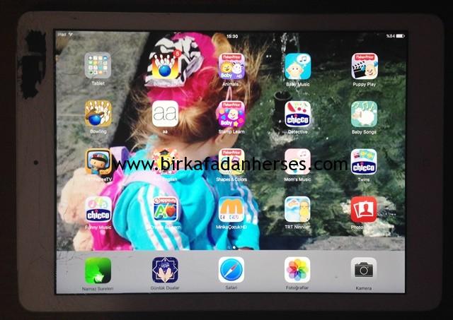 dokunmatiği ön ekranı çatlamış ipad air