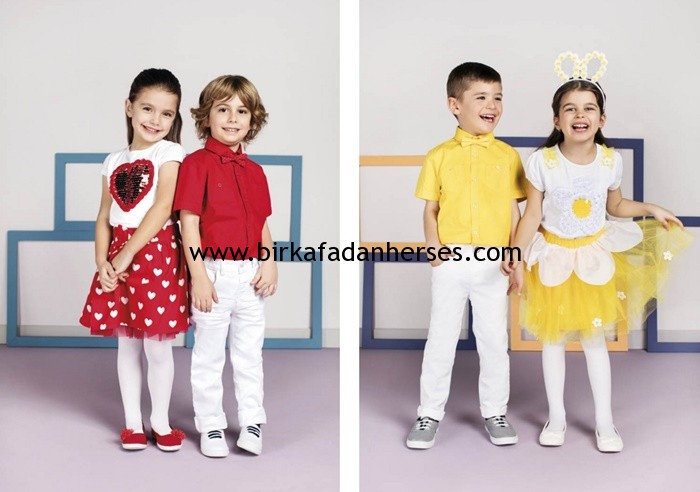 23 nisan gösterileri için lcw erkek kız çocuk kıyafetleri