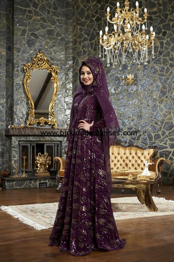7cdf8d4f2e5cd mor kösem sultan abiyeleri elbise modelleri | Bir Kafadan Her Ses