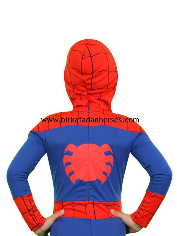 Spiderman Butik Kostüm