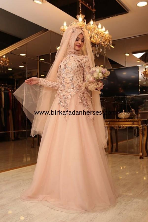 pınar şems 2016 tesettür nişanlık modelleri