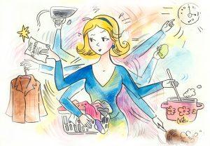 ev hanımı anne eş iş kadını