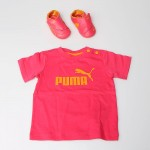 Puma Drift Cat Tshirt-Patik Set Pembe