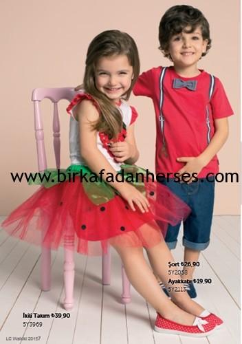 lc waikiki 23 nisan kız çocuk bayram elbiseleri erkek çocuk takımları